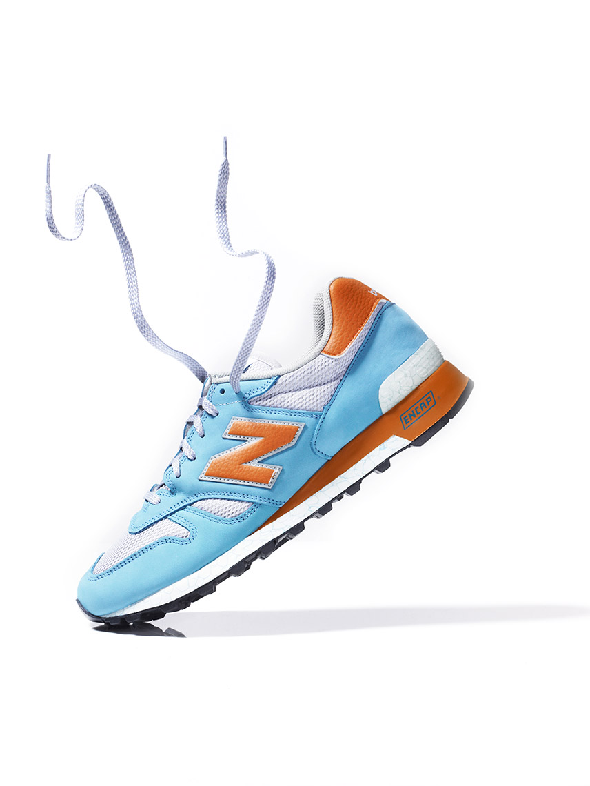 New Balance Shoe Floating